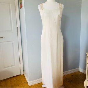 Vintage Jessica McClintock Cream/Off White Dress